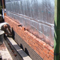Airflex muurisolatie spouw