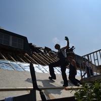 Airflex-rieten dak isolatie zaltbommel