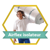 airflex isolatiefolie isolateur