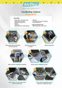 kruipruimte isoleren stappenplan handleiding voorkant