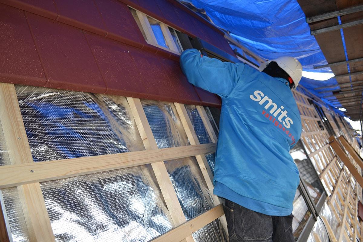 dak isoleren met airflex folie