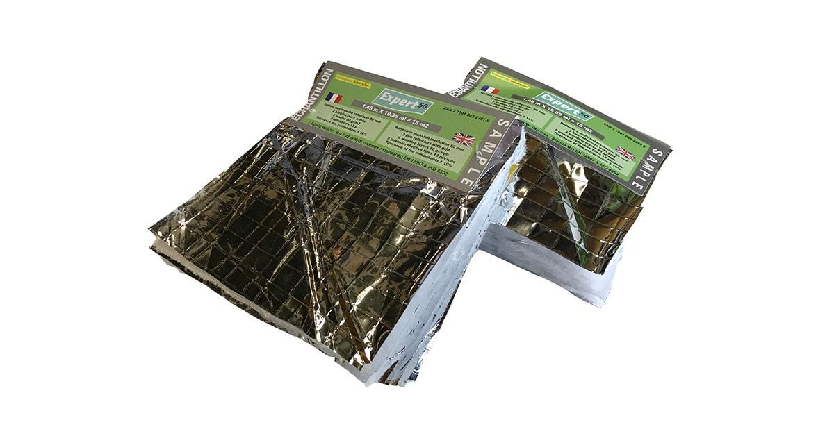isolatiefolie samples