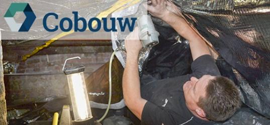 Airflex in Cobouw Magazine: flexibele isolatie uitkomst bij bestaande bouw