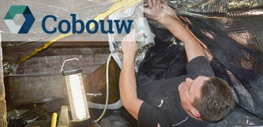 Cobouw Magazine: flexibele isolatie uitkomst bij bestaande bouw